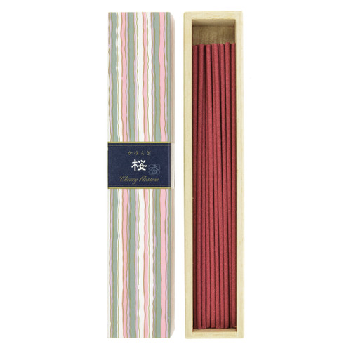 Kayuragi Cherry Blossoms Incense (40 Sticks)