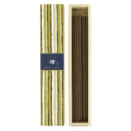 Kayuragi Japanese Cypress Incense (40 Sticks)