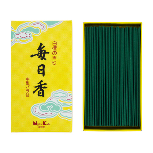 Mainichi-Koh Sandalwood Incense (360 Sticks)