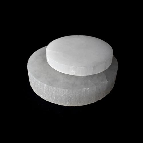 Selenite Disc / Plate