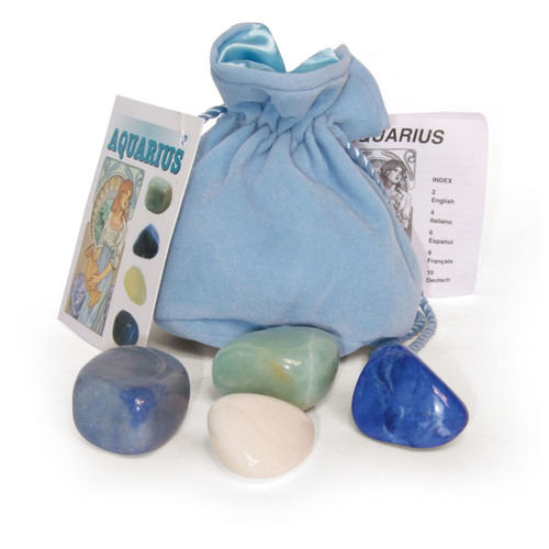 Aquarius Crystals Tumblestone Set
