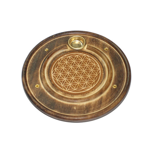 Flower of Life Incense Stick & Cone Holder