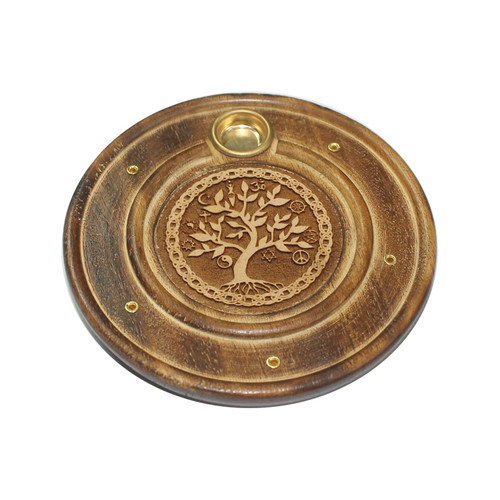 Tree of Life Incense Stick & Cone Holder