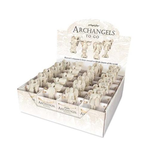 Archangels To Go Display - 24 Archangels & Gift Bags
