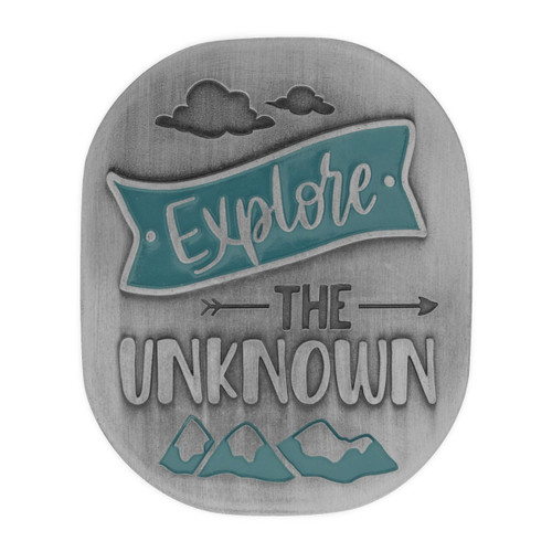 Expedition Pewter Visor Clip Explore the Unknown