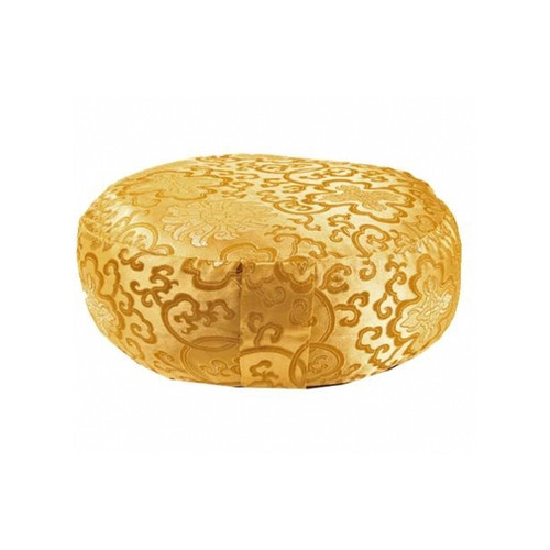 Golden Lotus Meditation Cushion