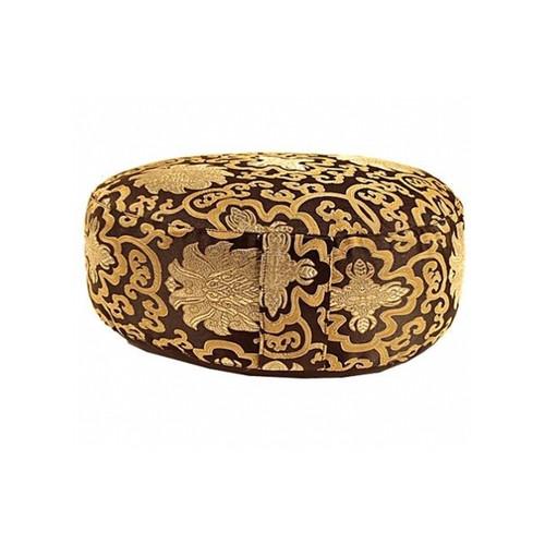 Black / Golden Lotus Meditation Cushion