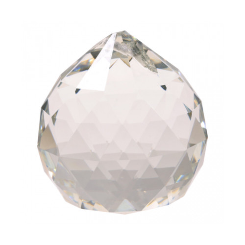Clear Crystal Feng Shui Sphere (AAA Quality) - 2cm