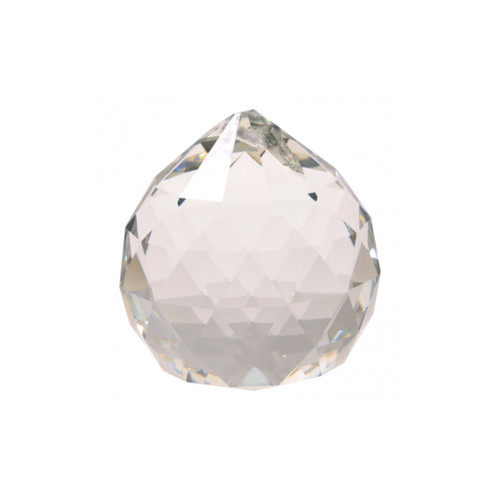 Clear Crystal Feng Shui Sphere (AAA Quality) - 4cm