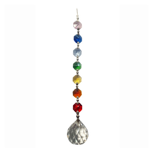 Chakra Crystal Sphere with Gift Box (20cm)
