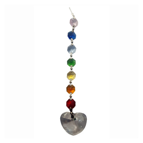 Metta Chakra Crystal Heart with Gift Box (20cm)