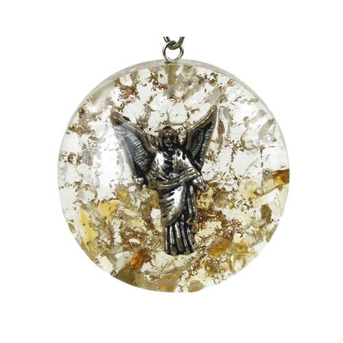 Orgone Archangel Uriel Pendant