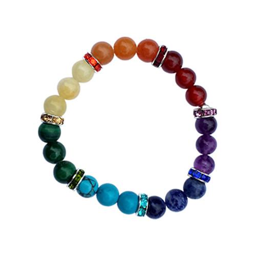 7 Chakras Beaded Bracelet