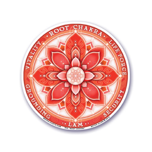 1st Root Chakra Window Sticker