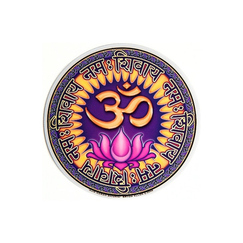 Aum Namah Shivaya Window Sticker