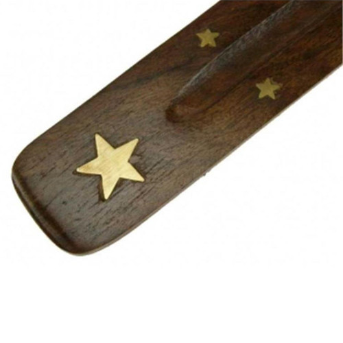 Star Wooden Incense Stick Holder