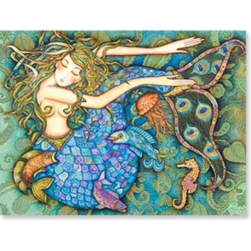 Beautiful Mermaid Greeting Card (Birthday)