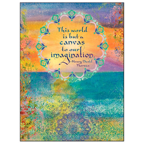 Canvas to Imagination Mandalas Greeting Card (Birthday)
