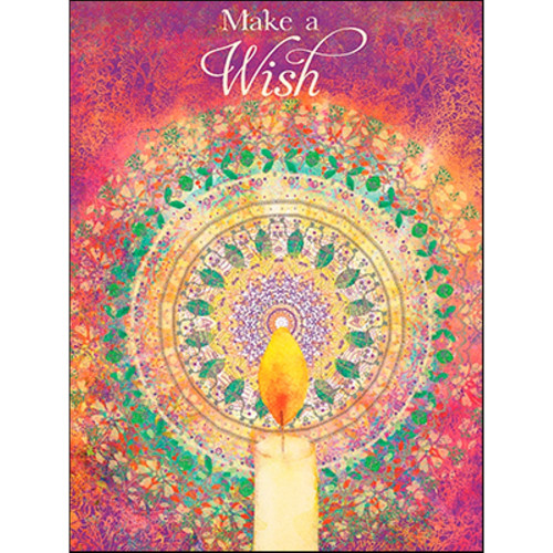 Make A Wish Greeting Card (Birthday)