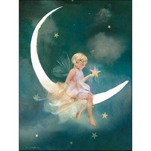 New Moon Fairy Wish Greeting Card (Birthday)