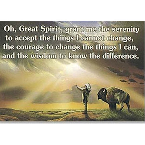 Serenity, Courage And Wisdom Magnet