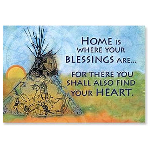 Blessed Home Magnet