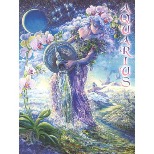 Aquarius Poster by Josephine Wall