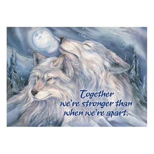 Together We're Stronger Magnet