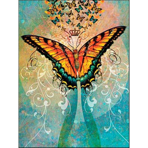 Butterfly Crown Greeting Card