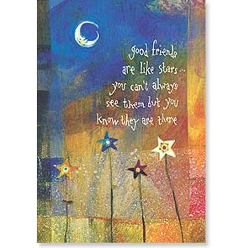 Stars Greeting Card (Friendship)