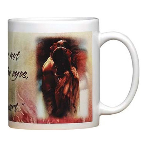 Look With The Heart Mug
