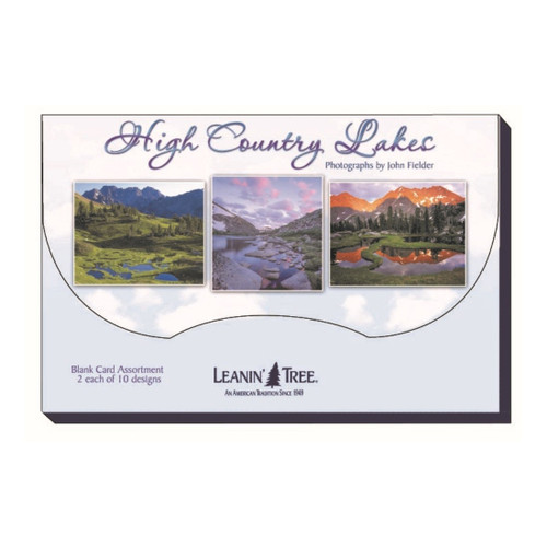 High Country Lakes Greeting Card Box (20 Assorted Cards)