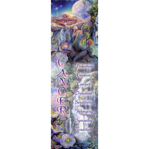Cancer Bookmark by Josephine Wall