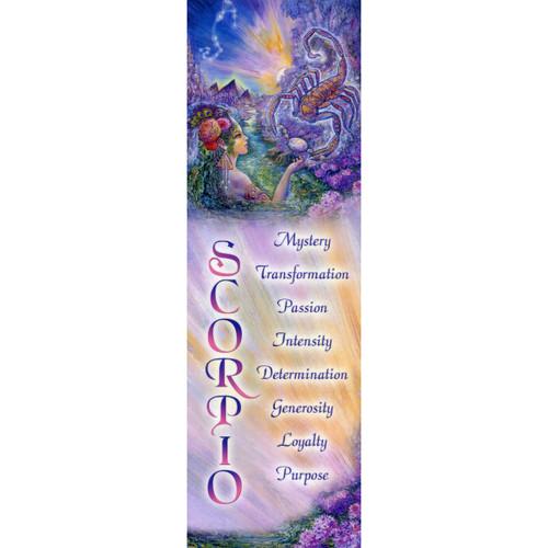 Scorpio Bookmark by Josephine Wall