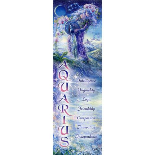 Aquarius Bookmark by Josephine Wall