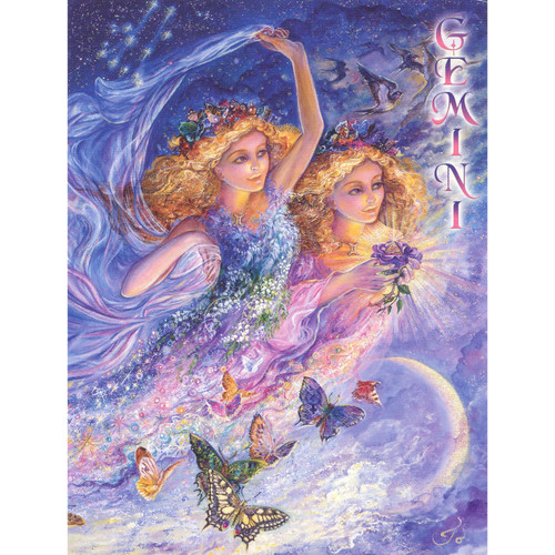 Gemini Poster by Josephine Wall