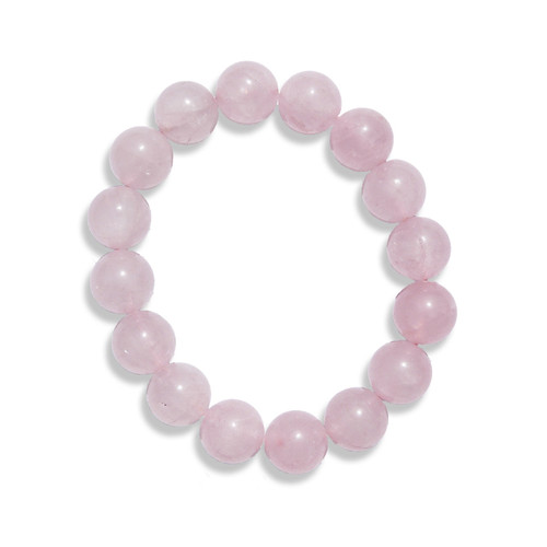 Rose Quartz Power Bracelet (12mm)