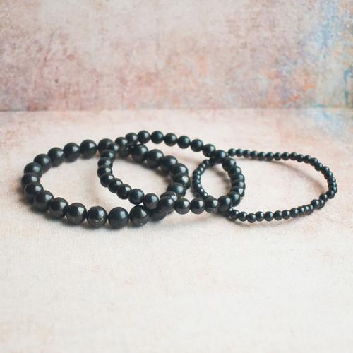 Shungite Beaded Bracelet