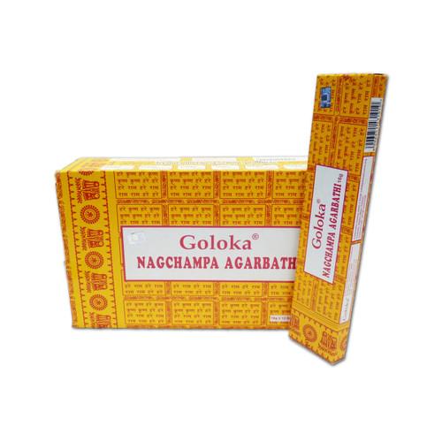 Nag Champa Agarbatti - Goloka Incense Sticks