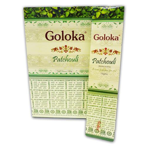 Patchouli Masala Goloka Incense Sticks