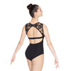Lace Inset Leotard