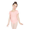 Seamless Short Sleeve Scoop Neck Leotard