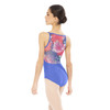 ABSTRACT MESH CAMISOLE LEOTARD