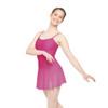 MATTE NYLON-SPANDEX CAMISOLE DRESS