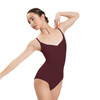 MICROFIBER GATHERED FRONT LEOTARD