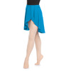 GEORGETTE HIGH-LOW WRAP SKIRT