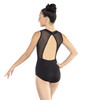 Linear Mesh Tank Leotard