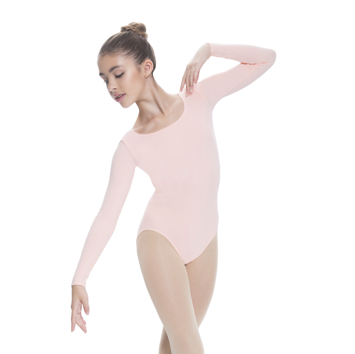 LONG SLEEVE / SCOOP FRONT LEOTARD
