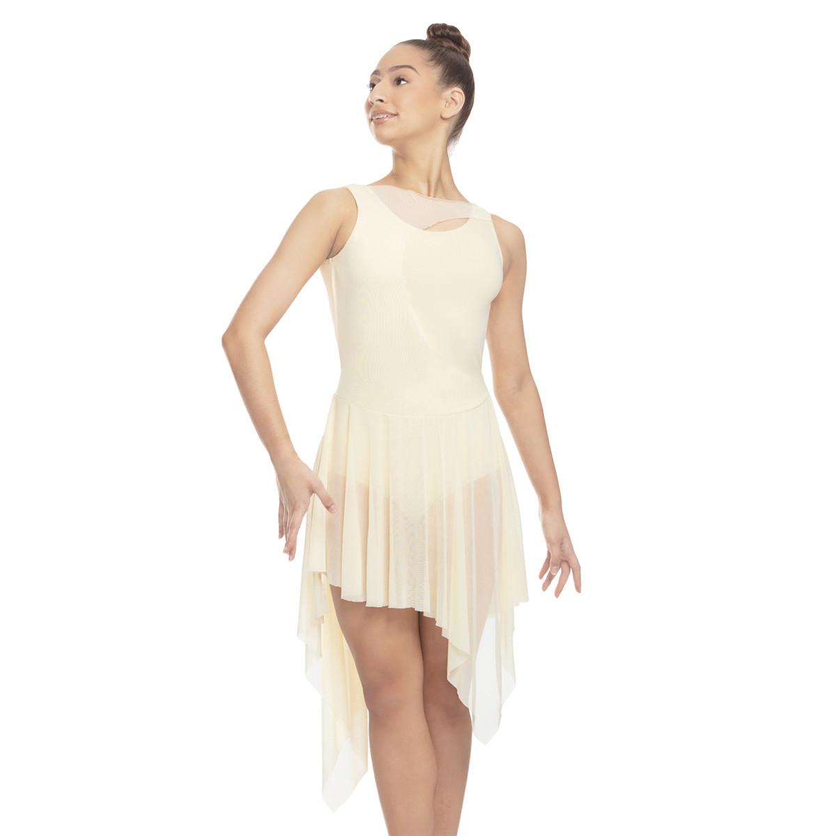 ASYMMETRICAL TANK DRESS