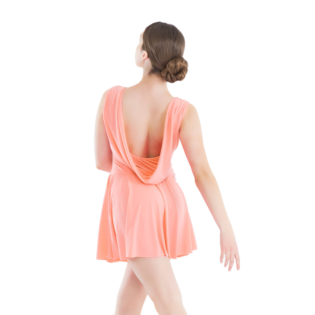 DRAPE-BACK TANK DRESS